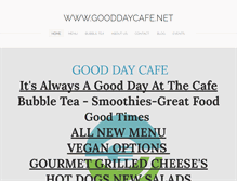 Tablet Preview of gooddaycafe.net